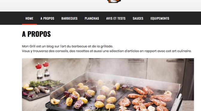 Un site sur les grillades et les BBQ